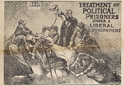Treatment of Political Prisoners under a liberal government: 1914