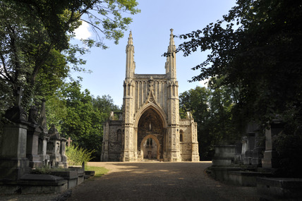 The Chapel, Nunhead Cemetry; 2009