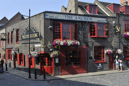 The Anchor Pub, Bankside; 2009