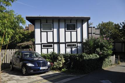A self build house near Honour Oak, South London; 2009