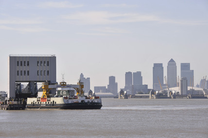 The Woolwich Ferry; 2009