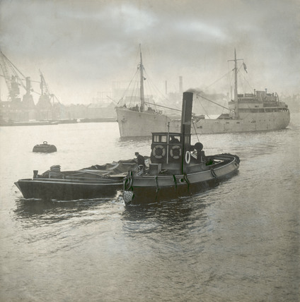 A view of Limehouse Reach; 1920- 1945