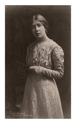 Portrait of Mrs Sylvia E. Pankhurst: c.1910