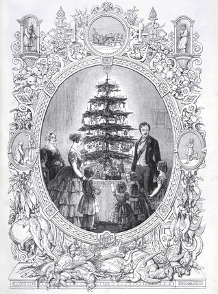 Christmas Tree at Windsor Castle: 1848