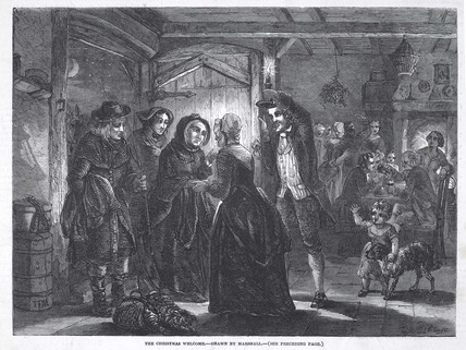 The Christmas Welcome: 1848