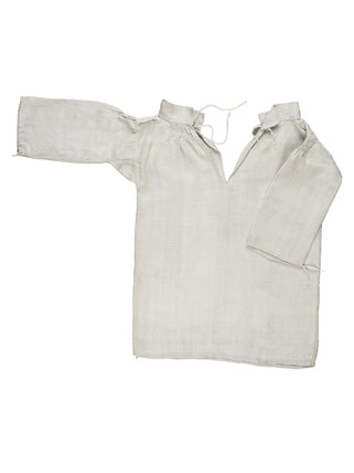 Linen smock for artist's lay figure: 18th century