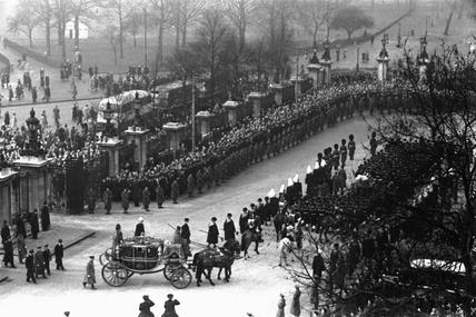 Funeral King George VI; 1952