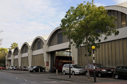 Stockwell Bus Garage; 2009