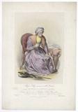 Frances Maria Kelly as Mrs Parthian