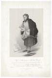 Frances Maria Kelly as a Scotch Fishwife