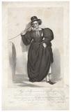 Frances Maria Kelly as Lady Savage
