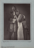 William Hunter Kendal as Lord Clancarty; Madge Kendal as Lady Clancarty in 'Clancarty'