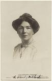 Dame Christabel Pankhurst
