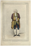 George Frederick Cooke as Sir Pertinax MacSycophant in Charles Macklin's 'Man of the World'