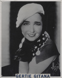 Gertie Gitana (née Gertrude Mary Astbury)