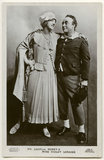 Violet Loraine and George Robey in 'The Bing Boys Are Here'