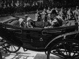 Queen Elizabeth II, Princess Margaret, King George VI and Queen Elizabeth, the Queen Mother