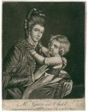 'Mrs Green and Child' (Mary Green; Rupert Green)