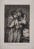 Fanny Stirling as the Nurse and Mary Anderson as Juliet in 'Romeo and Juliet'
