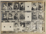 Florence Burdett; (Lilian) Decima Moore; Miss M. Harrison; Mrs Markham