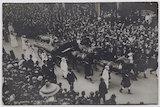 Procession of Emily Davison's funeral
