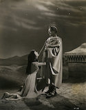 Vivien Leigh as Cleopatra; Claude Rains as Julius Caesar in 'Caesar and Cleopatra'