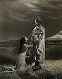 Vivien Leigh as Cleopatra; Claude Rains as Julius Caesar in 'Caesar and Cleopatra'