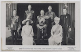 'Their Majesties the King and Queen and Family'