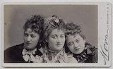 Jessie Catherine Biddulph Vokes; Victoria Rosaline Sarah Vokes; (Theodocia) Rosina Vokes