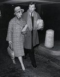 Leslie Caron; Sir Peter Hall