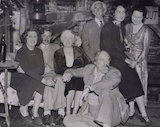 Group including Elspeth Fox Pitt (née Phelps); Bertrand Arthur William Russell, 3rd Earl Russell and Augustus John