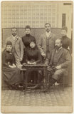 King Edward VII with his family