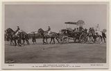 'The Coronation Durbar, 1911. T.M. The King-Emperor & Queen-Empress Driving to the Durbar'
