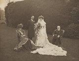 Mary Hodgson Trotter (née Gillett); Reginald Cecil Powys-Lybbe; Lilian Powys-Lybbe (née Trotter); Henry Eden Trotter (né Brown)