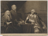 John Dunning, 1st Baron Ashburton; Isaac Barré; William Petty, 1st Marquess of Lansdowne (Lord Shelburne)