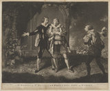 'Mr. Powell and Mr. Bensley in the Characters of King John and Hubert'