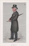 "Algernon Bertram Freeman-Mitford, 1st Baron Redesdale ('Men of the Day. No. 920. ""The Nobleman of the Garden""')"