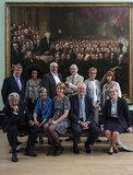 Trustees of the National Portrait Gallery, 2017 (Rob Dickens; Brian Allen; Rachel Wang; Joanna Kennedy; Sir Michael Hintze; Rosalind ('Polly') Blakesley; Christopher Mark Le Brun; Sir William Proby; Dame Carol Mary Black; Kim Evans; Allegra Berman)