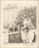 King George III ('A peep over the garden wall in Berkeley Square')