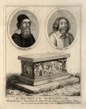 The Monument of the Tradescants (John Tradescant the Elder; John Tradescant the Younger)