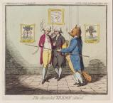 'The discarded viceroy silenced' (Charles James Fox and two others)