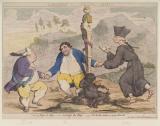 'Coalition dance' (Frederick North, 2nd Earl of Guilford; Charles James Fox; Edmund Burke)