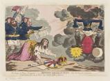 'The genius of France triumphant, - or - Britannia petitioning for peace'