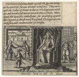 Somerviles haste to kill the Queene (Queen Elizabeth I; John Somerville (Somervile); 2 guards)