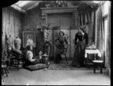 Bea Martin; Rita Martin; Lallie Charles (née Charlotte Elizabeth Martin)