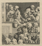 'The Laughing Audience (or A Pleased Audience)'