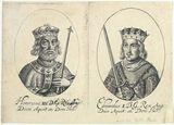 King Henry III; King Edward I (fictitious portraits)