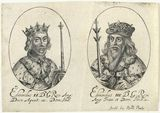 King Edward II; King Edward III (fictitious portraits)