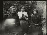 Margaret Livingston; Winifred Margaret Broom and an unknown woman