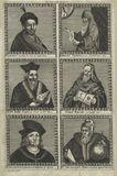 Mohammed, Appoloneus Tyaneus, Sir Edward Kelley, Roger Bacon, Paracelsus, John Dee